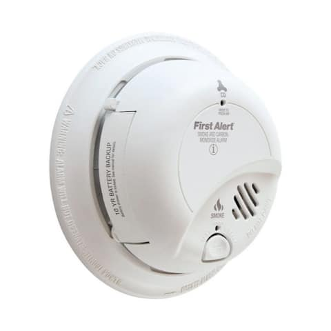 First Alert Hard-Wired with Battery Back-up Electrochemical/Ionization Smoke and Carbon Monoxide Detector