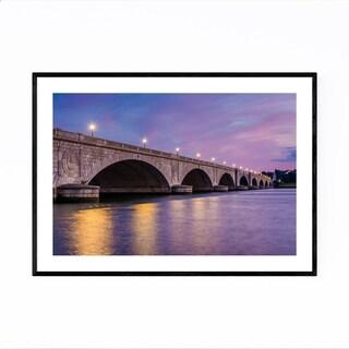 Noir Gallery Washington DC Arlington Bridge Framed Art Print