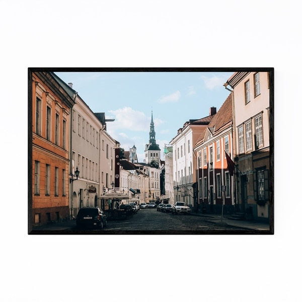 Noir Gallery Tallinn Estonia Old Town Europe Framed Art Print