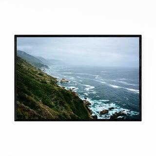 Noir Gallery California Big Sur Mountains Framed Art Print