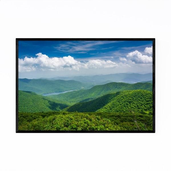 Noir Gallery Blue Ridge North Carolina Nature Framed Art Print