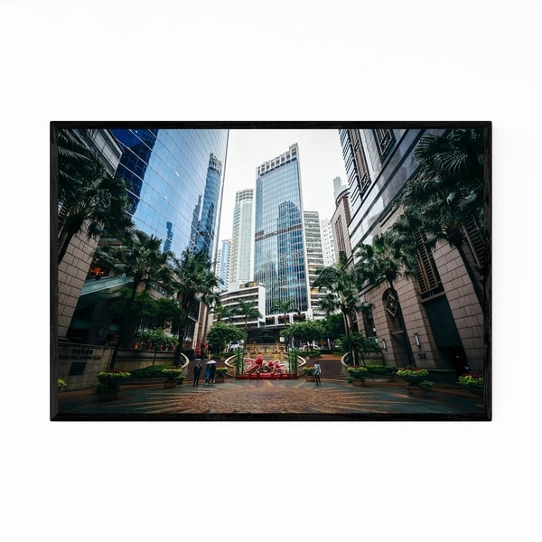 Noir Gallery Hong Kong Sheung Wan Park Framed Art Print