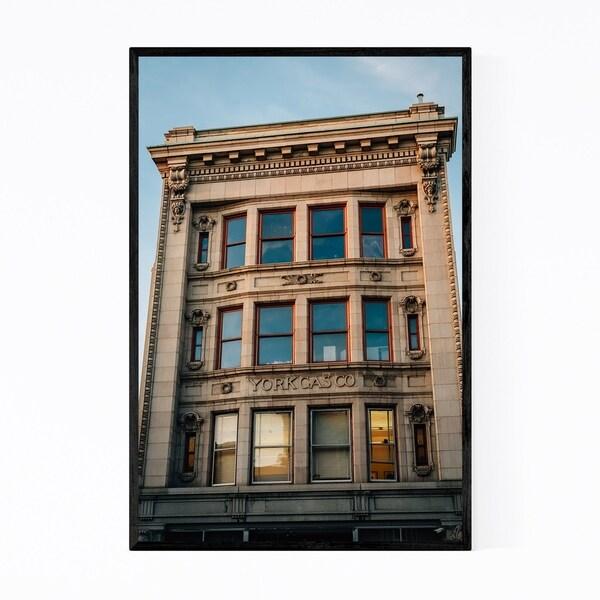 Noir Gallery York Pennsylvania Architecture Framed Art Print