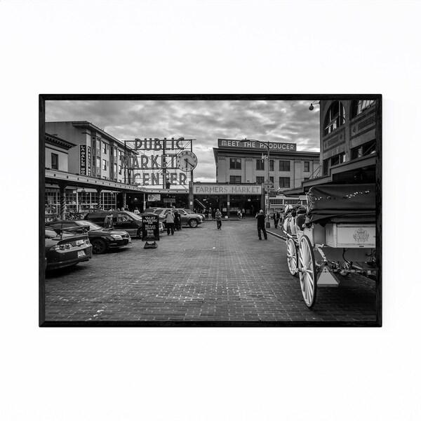 Noir Gallery Seattle Pike Place Market Framed Art Print