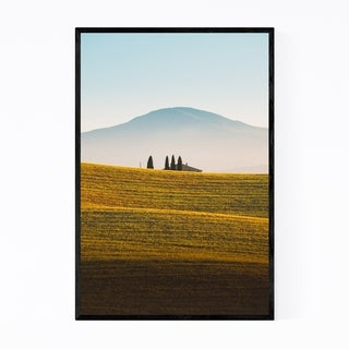 Noir Gallery Tuscany Italy Landscape Nature Framed Art Print