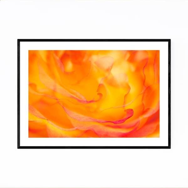 Noir Gallery Abstract Rose Digital Art Floral Framed Art Print