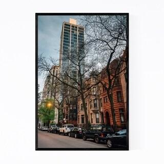 Noir Gallery Chicago, Illinois Gold Coast Framed Art Print