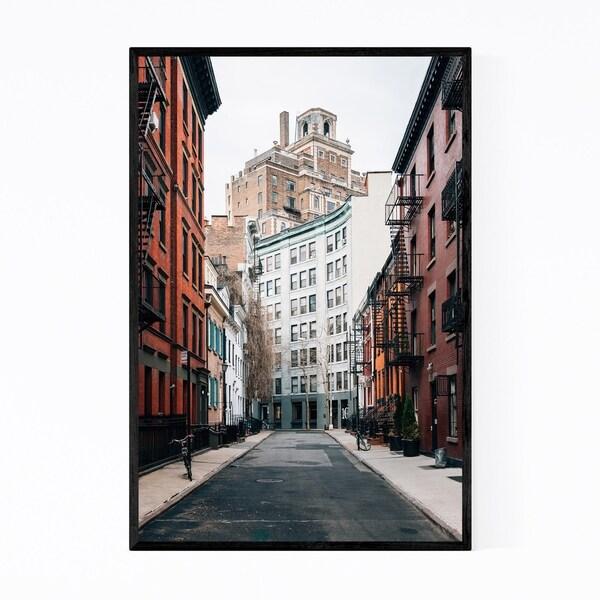 Noir Gallery Gay Street West Village New York Framed Art Print