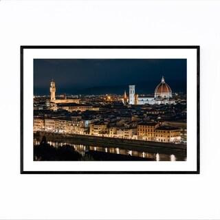 Noir Gallery Florence Tuscany Italy Photo Framed Art Print