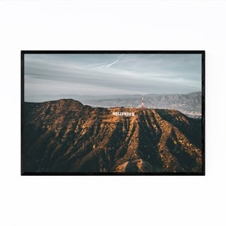 Noir Gallery Hollywood Sign Los Angeles CA Framed Art Print