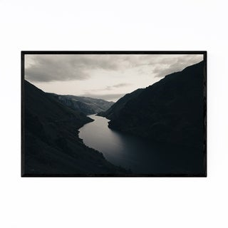Noir Gallery Hells Canyon Idaho Landscape Framed Art Print
