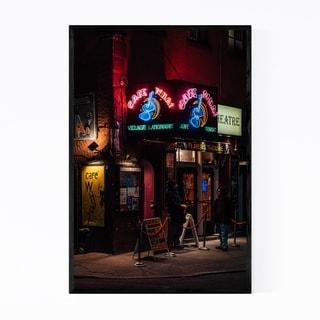 Noir Gallery Cafe Wha West Village New York Framed Art Print