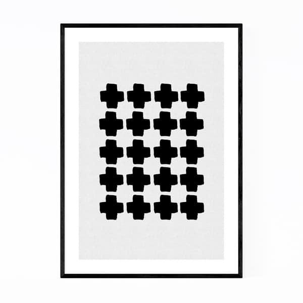 Shop Noir Gallery Minimalist Abstract Geometric Framed Art