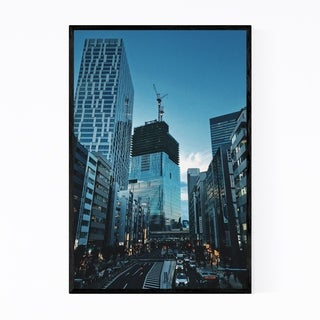 Noir Gallery Shibuya Tokyo Japan Photography Framed Art Print