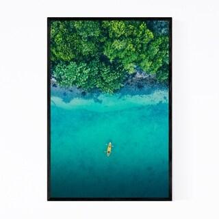 Noir Gallery Phi Phi Thailand Beach Coastal Framed Art Print