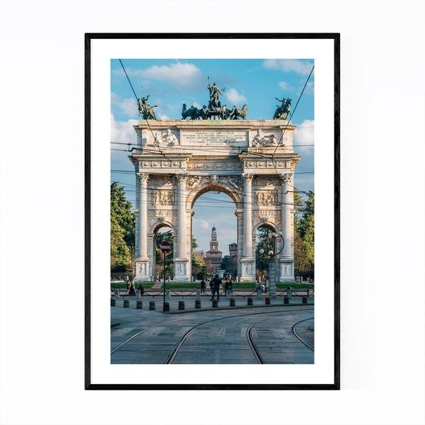 Noir Gallery Arco della Pace Milan Italy Framed Art Print