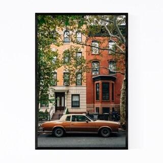 Noir Gallery Greenpoint Old Car Brooklyn NYC Framed Art Print