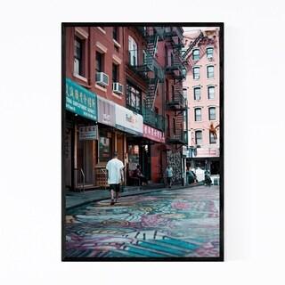 Noir Gallery Chinatown New York City NYC Framed Art Print