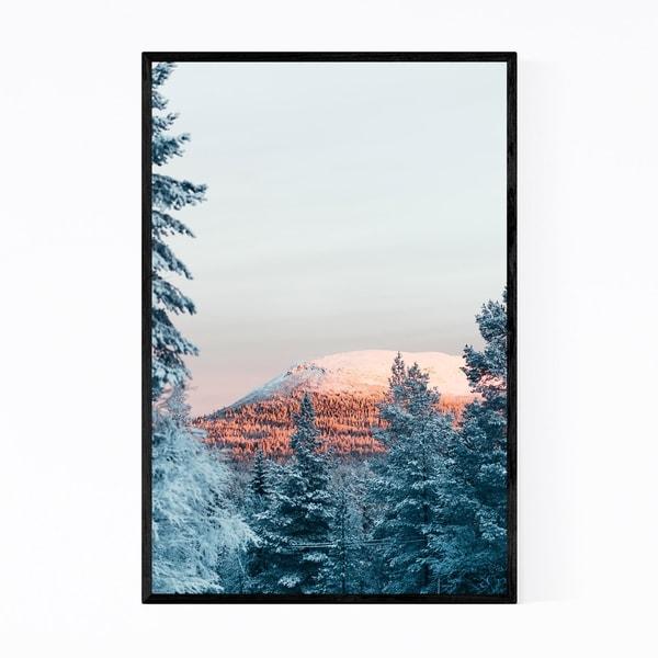Noir Gallery Sweden Landscape Nature Mountain Framed Art Print