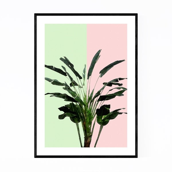 Noir Gallery Banana Plant Botanical Floral Framed Art Print