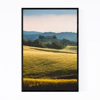 Noir Gallery Tuscany Italy Farm Landscape Framed Art Print