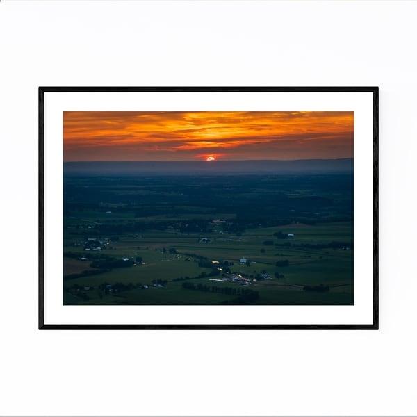 Noir Gallery High Rock Maryland Mountains Framed Art Print