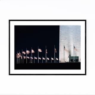 Noir Gallery Washington DC National Mall Framed Art Print