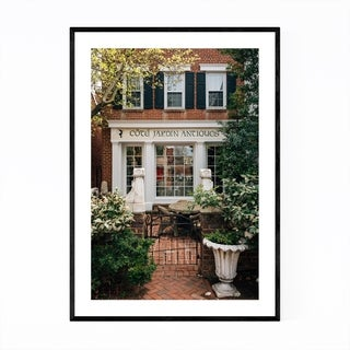 Noir Gallery Washington DC Urban Georgetown Framed Art Print