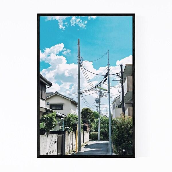 Noir Gallery Komazawa Tokyo Japan Photography Framed Art Print