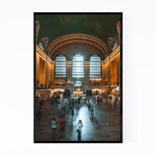 Noir Gallery Grand Central Station New York Framed Art Print