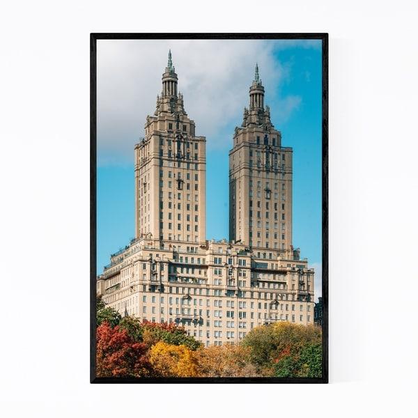 Noir Gallery Upper West Side Architecture NYC Framed Art Print