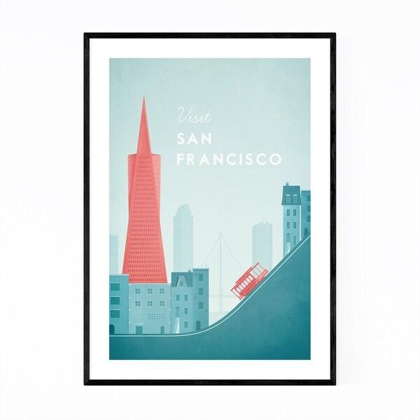 Noir Gallery Minimal Travel San Francisco Framed Art Print