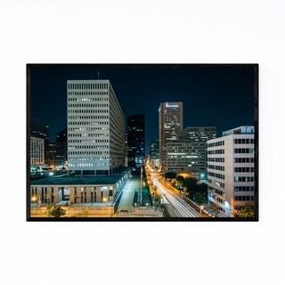 Noir Gallery Baltimore, MD Downtown Skyline Framed Art Print