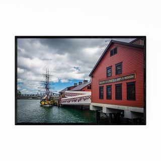Noir Gallery Boston Tea Party Museum Framed Art Print