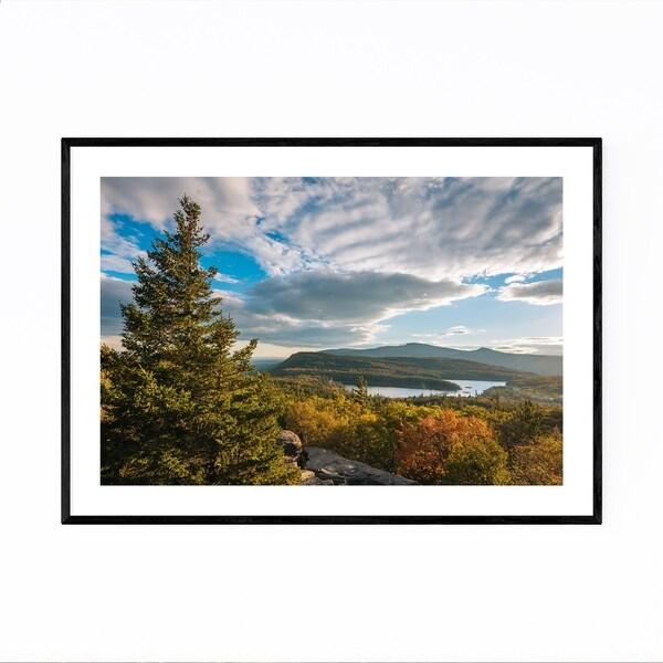 Noir Gallery Catskill Mountains Autumn Fall Framed Art Print