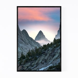 Noir Gallery Wyoming Rocky Mountains Nature Framed Art Print