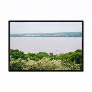 Noir Gallery Peoria Illinois River Landscape Framed Art Print