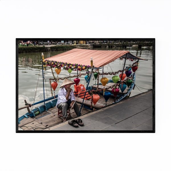Noir Gallery Hoi An Vietnam Urban Photography Framed Art Print
