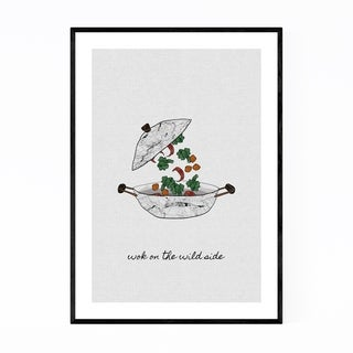 Noir Gallery Kitchen Cooking Food Quote Framed Art Print
