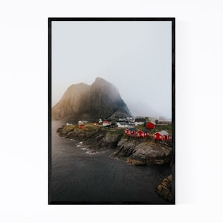 Noir Gallery Hamnoy Lofoten Islands Norway Framed Art Print