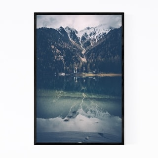 Noir Gallery Italy Alps South Tyrol Mountains Framed Art Print