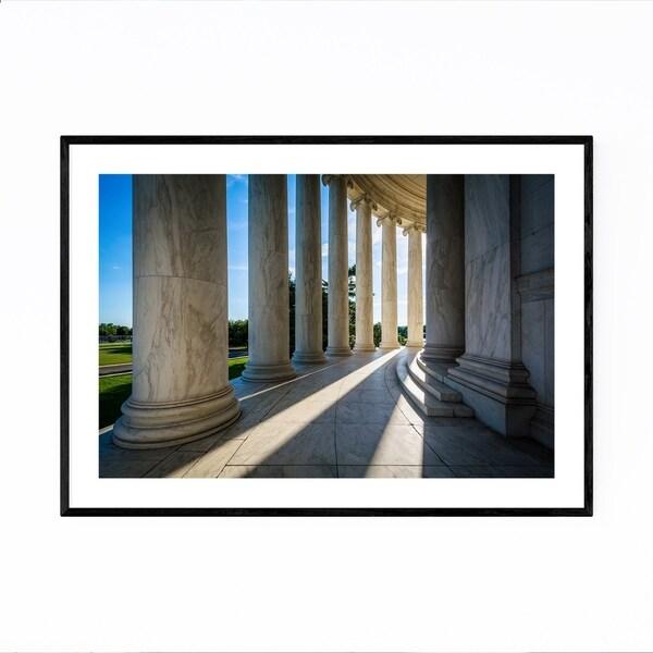 Noir Gallery Washington DC Cityscape Photo Framed Art Print