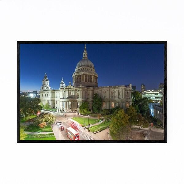 Noir Gallery St. Paul's Cathedral London UK Framed Art Print