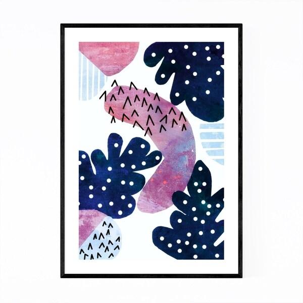Noir Gallery Abstract Geometric Shapes Framed Art Print