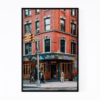 Noir Gallery East Village Bar New York City Framed Art Print