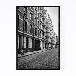 Noir Gallery Black & White New York City SoHo Framed Art Print