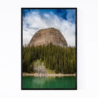 Noir Gallery Banff Rocky Mountains Alberta Framed Art Print