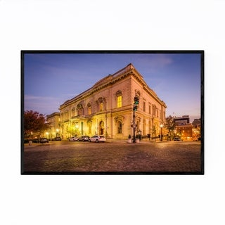 Noir Gallery Mt Vernon Architecture Baltimore Framed Art Print