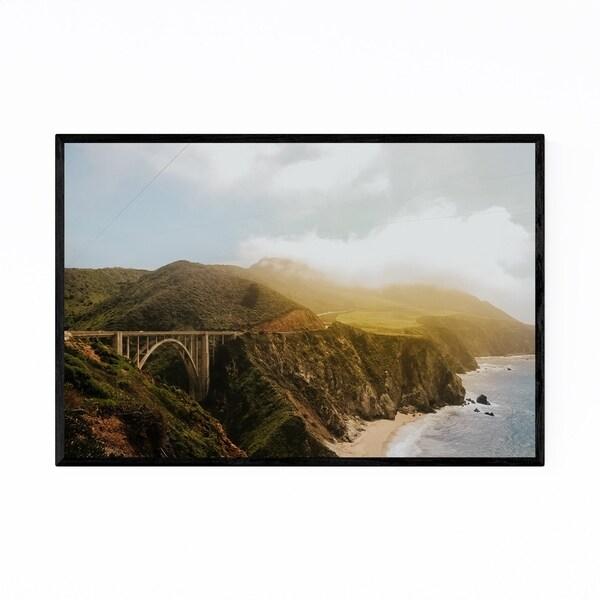 Noir Gallery Bixby Bridge Big Sur California Framed Art Print