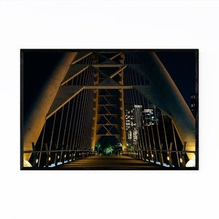 Noir Gallery Toronto Humber Bay Arch Bridge Framed Art Print